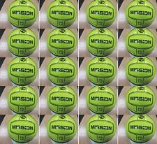 **50% DISCOUNT** 20 x PRECISION MISSION FOOTBALLS (Soft touch) - FLUO YELLOW