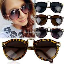 Fashion Round Glass Retro Women Sunglasses  Frame Arrow Glasses Eyewear SH