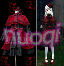 K Anime Anna Kushina Lolita Dress Cosplay Costume Full Set Costume Made