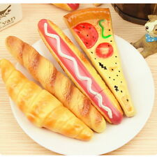 Fast Food Ballpoint Pen with a Magnet Behind Stationery Fridge Bread Pizza Y