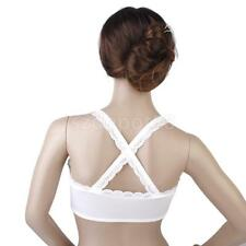 Comfortable Lady's Lace Straps Bralet Bustier Sport Crop Top Padded Bra Bandeau