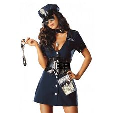 Sexy Cop Costume Adult Police Officer Halloween Fancy Dress
