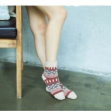 New Fashion Casual Cotton Knitted Socks Multi-Color Dress Mens Womens Socks
