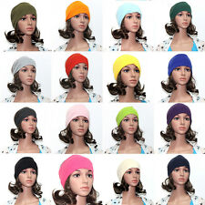 Women Colored Wide Yoga Headband Stretch Hairband Elastic Sport Hair Band Turban