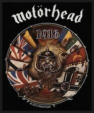 Motorhead 1916 Patch - NEW & OFFICIAL