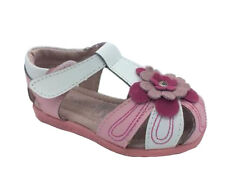 Girls Shoes ProActive Gypsy White/Pink Leather Sandals Size 4-12 New