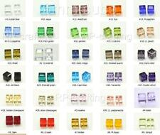 50 Top Quality 6mm Austria cube crystal beads Charms For Swarovski #5601-U pick