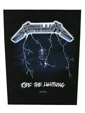 Metallica Ride The Lightning Backpatch - NEW & OFFICIAL