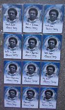 DAVID BOWIE The Man Who Fell To Earth BERNIE CASEY Autograph Card - 12 Variants