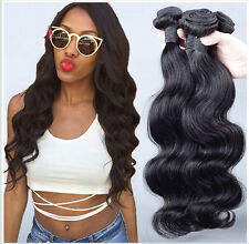Brazilian Virgin Body Wave Human Hair Extensions Remy Hair 4 pcs Weave 200g all