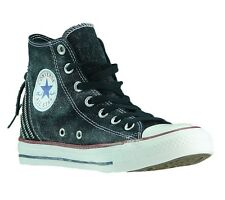 new CONVERSE Chucks Women's Shoe Sneaker High Black Tri Zip All Star 545019C