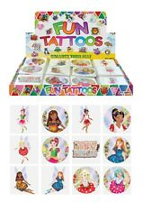Children Kids Girls Fairy Butterfly Temporary Tattoos Birthday Party Bag Loot
