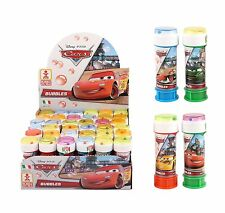 DISNEY CARS - BUBBLES (Choose Amount) Boys/Girls/Kids Party Bag Filler Loot Toys