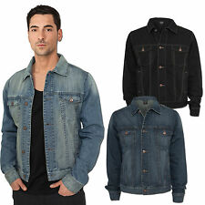 URBAN CLASSICS MEN'S DENIM JACKET DENIM JACKET JEANS PREMIUM DENIM S-XXL