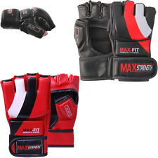 Authentic Cage Fight Boxing Grappling Gloves MMA Kick Martial Arts Mix Training
