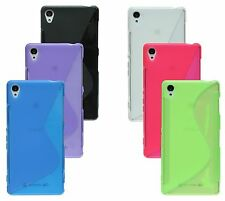 Sony Xperia Z3 D6603 Shell Mobile Phone Case Pouch Silicone Protector Gel + Foil