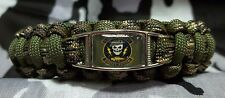 U.S. Army D Co, 1st Bn 5th Special Forces Group GHOST RECON Paracord Bracelet