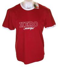 Bnwt Mens Hero Wrangler Short Sleeve T Shirt XXLarge New Regular Fit Red