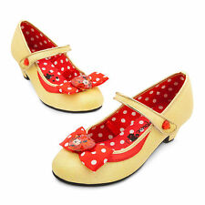 Disney Store Minnie Mouse Costume Dress Shoe Girl Size 9/10