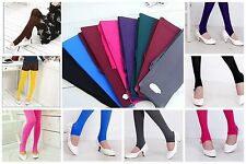 J-CA 1 Pairs 100 Denier 12 Colors Choose One Stirrups Tights Pants Pantyhose