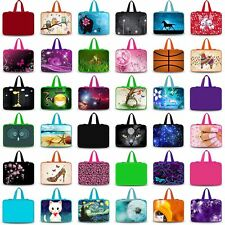 "15""-15.6"" Soft Neoprene Laptop Cover Sleeve Bag Case Pouch Protector+Hide Handle"