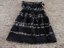 NWT Mossimo Supply Womens Strapless Casual Black Dress Size XS & S