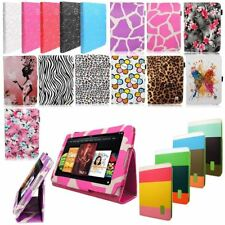 Bling Diamond Leather Filp Folio Stand Case Cover For iPad Samsung Kindle Tablet