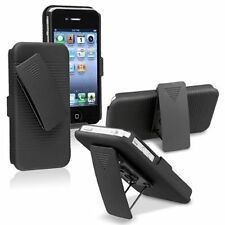 Hybrid Armor Rugged Hard Soft Heavy Duty Holster Belt Clip Kickstand Case Cover