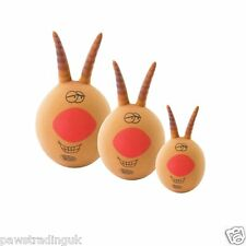 Xmas Festive Lob It Reindeer Lobber Squeaky Space Hopper Dog Puppy Christmas Toy