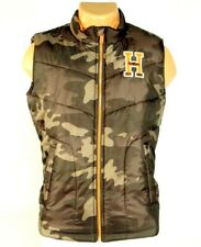 Tommy Hilfiger Zip Front Green Camouflage Insulated Winter Vest Youth Boys NWT