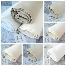 WASHED NATURAL LINEN - 100% linen FABRIC approx 370g per m