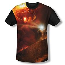 Popfunk Lord of the Rings You Shall Not Pass Gandalf and Balrog Dye Sub T-Shirt