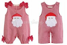 Baby Boy Girl Christmas Santa Claus Costume Outfit Romper One Piece 000,00,0,1