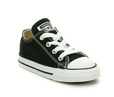 Boy's/Girl's Toddler CONVERSE ALL STAR Chuck Taylor 7J235 Black Casual Shoes New