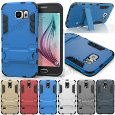 Rugged Stand Shockproof Hybrid Rubber Hard Case Cover For Samsung Galaxy S Note