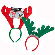 REINDEER ANTLERS HEADBAND CHRISTMAS XMAS FANCY DRESS ACCESSORY WHOLESALE