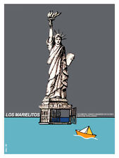 882 Los marielitos movie Art Decoration POSTER.Graphics to decorate home office.