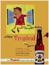 88. Art Decoration POSTER.Graphics to decorate home office.Tropical beer Ad Art.