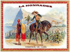 693.La Horradez Wall Decorative POSTER.Graphics to decorate home office.Cigar.