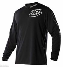 TROY LEE DESIGNS TLD GP JERSEY MIDNIGHT BLACK MENS / YOUTH OFFROAD ATV