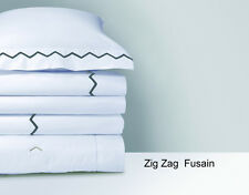 YVES DELORME CLASSIC ZIG ZAG PILLOW SHAM
