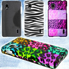 Hard Snap On Design Protective Thin Phone Cover Case for LG Optimus G Eclipse 4G