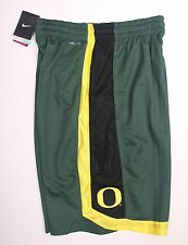 NWT Mens NIKE OREGON DUCKS Noble Green Basketball Athletic Gym Shorts (M or L)