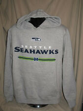 NFL Seattle Seahawks Critical Victory Hoody Hooded Sweatshirt Mens Sizes Nwt