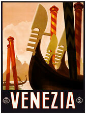 407.Venezia Italy Travel Art Decoration POSTER.Graphics to decorate home office.