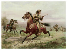 1344 Hunt Painting wall Art Decoration POSTER.Graphics to decorate home office.
