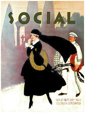306.Art Decor POSTER.Graphics to decorate home office.Social Magazine. Funeral.