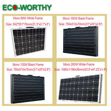 ECO Portable Folding Solar Panel 100W 120W 200W for Camp Power Charge Controller