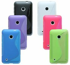 MOBILE PHONE ACCESSORIES for Nokia Lumia 530 SOFT CASE COVER TAB POUCH SILICONE