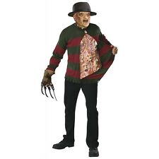 Freddy Krueger Costume Adult Chest of Souls Scary Halloween Fancy Dress